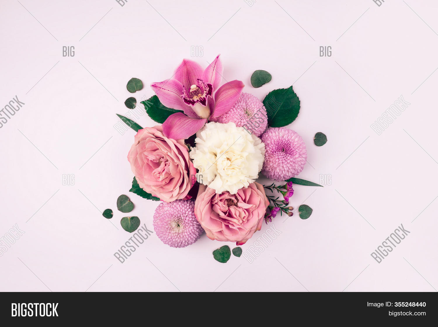 Flowers Bouquet Made Image Photo Free Trial Bigstock
