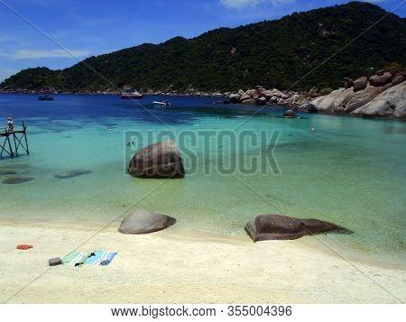 Tropical Paradise View, Koh Tao Island