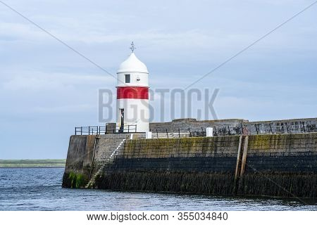 Castletown Harbour, Isle Of Man.castletown Is A Town In The Isle Of Man, Geographically Within The H