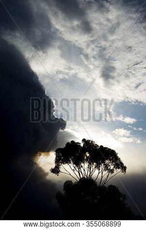Giant Plume Of Bush Fires Smoke In Australia