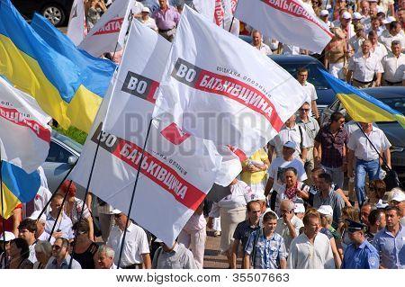 United Ukrainian opposition