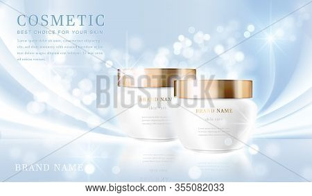 Cosmetic Bottles_elegant Blue 09