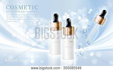 Cosmetic Bottles_elegant Blue 12