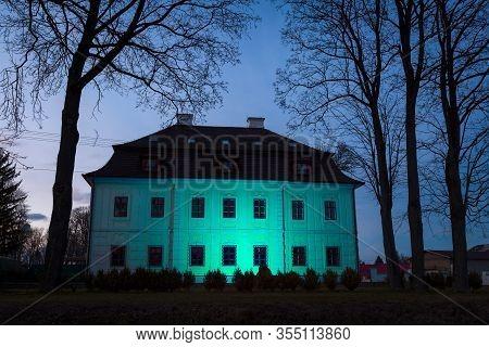 Manor House In Town Of Turcianske Teplice In Turiec Region, Slovakia.