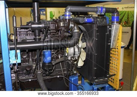 Diesel Engine For Agricultural Use. Power Generator.