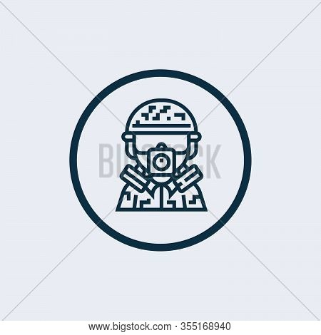 Gas Mask Icon Isolated On White Background From Emergency Collection. Gas Mask Icon Trendy And Moder