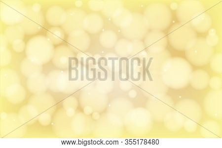Gold Abstract Bokeh Background - Bokeh Night Light, Create A Bokeh Background