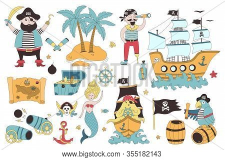 Vector Pirate Set