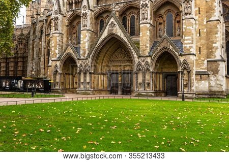 Westminster Abbey - Collegiate Church Of St Peter At Westminster In London.