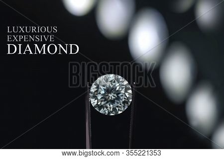 Diamonds Are Valuable, Expensive And Rare. For Making Jewelry