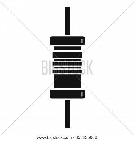 Phone Condensator Icon. Simple Illustration Of Phone Condensator Vector Icon For Web Design Isolated