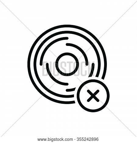 Black Line Icon For Unusual Atypical Unwonted  Bizarre Abnormal Uncommon Rare Unorthodox