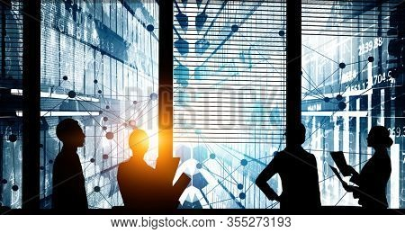 Business meeting and teamwork concept