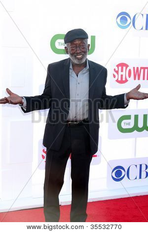 LOS ANGELES - JUL 29:  Garrett Morris arrives at the CBS, CW, and Showtime 2012 Summer TCA party at Beverly Hilton Hotel Adjacent Parking Lot on July 29, 2012 in Beverly Hills, CA