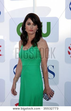 LOS ANGELES - JUL 29:  Robin Tunney arrives at the CBS, CW, and Showtime 2012 Summer TCA party at Beverly Hilton Hotel Adjacent Parking Lot on July 29, 2012 in Beverly Hills, CA