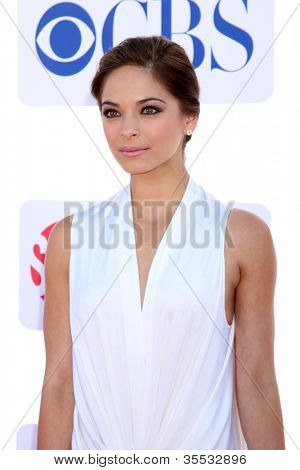 LOS ANGELES - JUL 29:  Kristin Kreuk arrives at the CBS, CW, and Showtime 2012 Summer TCA party at Beverly Hilton Hotel Adjacent Parking Lot on July 29, 2012 in Beverly Hills, CA