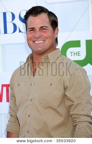 LOS ANGELES - JUL 29:  George Eads arrives at the CBS, CW, and Showtime 2012 Summer TCA party at Beverly Hilton Hotel Adjacent Parking Lot on July 29, 2012 in Beverly Hills, CA