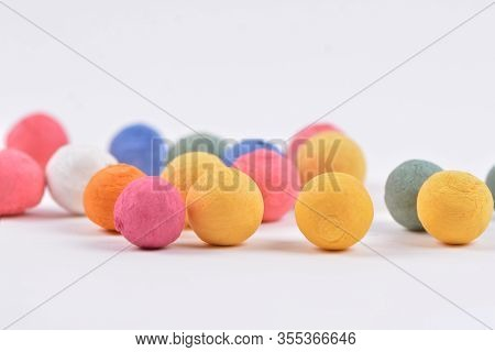 Colored Styrofoam Balls Decorative Polystyrene Spheres Baubles