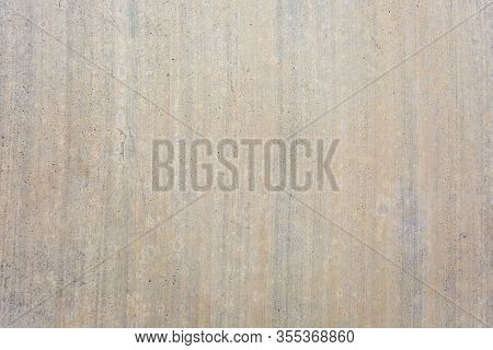 Close Up Shot Of A Concrete Texture Background With Vertical Lines. Great Concrete Background For Yo