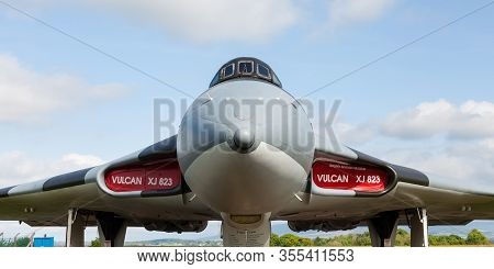 Carlisle, England - May 30:  A Close Up Picture Of Avro Vulcan B2 Xj823 At Solway Aviation Museum In