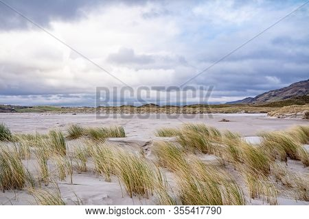 The Dunes At Maghera Beach Near Ardara, County Donegal - Ireland.