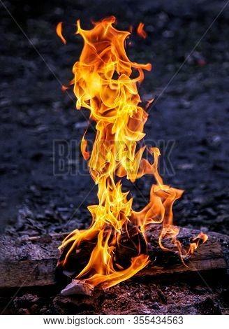 Fire Flames Of Bonfire