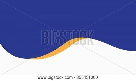 Simple Blue Background. Abstract Background Texture On Elegant Rich Luxury Background Web Template O