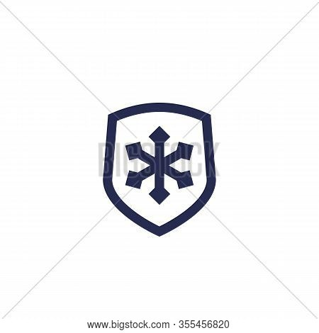 Frost Resistant Icon, Eps 10 File, Easy To Edit