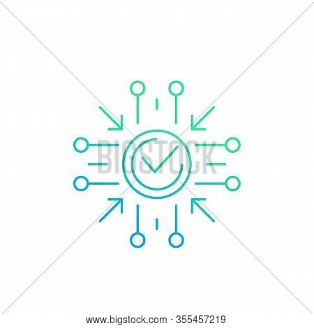 Positive Impact Icon, Line Vector, Eps 10 File, Easy To Edit