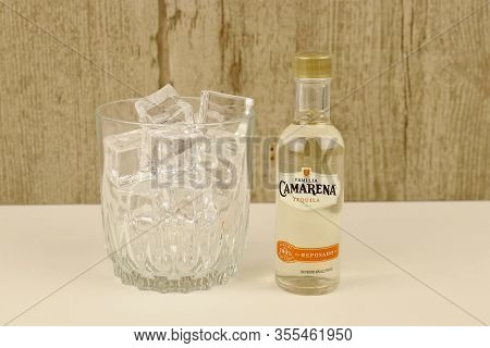 Spencer, Wisconsin, U.s.a. , March, 12, 2020  Bottle Of Camarena Tequila     Camarena  Tequila Is A