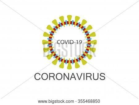 Coronavirus Icon, 2019-ncov Novel Coronavirus Concept Resposible For Asian Flu Outbreak And Coronavi