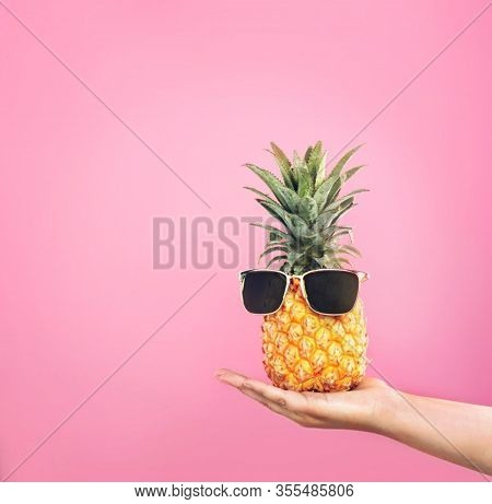 Pineapple. Healthy Pineapple. Fresh Pieces Of Pineapple Fruit
