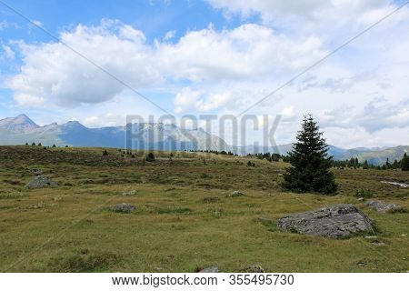 The Beautiful Mountain Landscape Of The Resia Valley Between The Friuli Alps In Italy 002