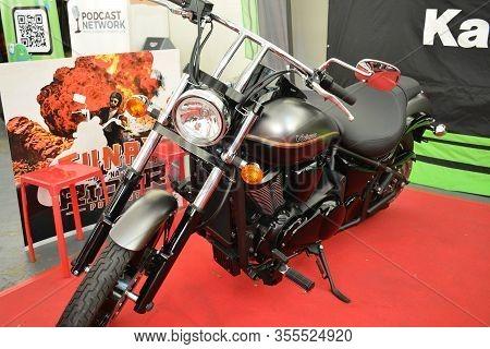 Pasig, Ph - Mar. 7: Kawasaki Vulcan Motorcycle At 2nd Ride Ph On March 7, 2020 In Pasig, Philippines