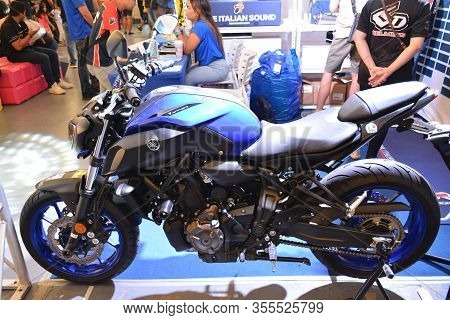 Pasig, Ph - Mar. 7: Yamaha Mt-07 Motorcycle At 2nd Ride Ph On March 7, 2020 In Pasig, Philippines. R