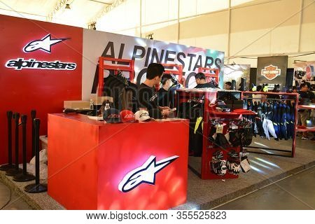 Pasig, Ph - Mar. 7: Alpinestars Motorcycle Protection Wears Booth At 2nd Ride Ph On March 7, 2020 In