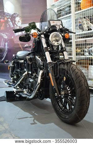 Pasig, Ph - Mar. 7: Harley Davidson 2020 Sportster Forty-eight Motorcycle At 2nd Ride Ph On March 7,