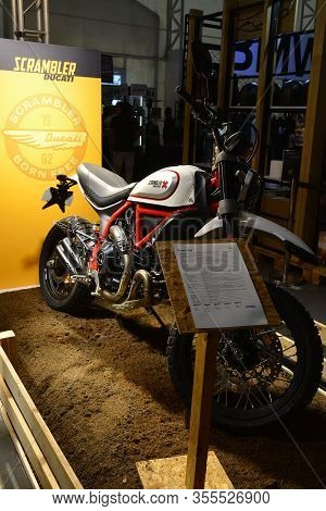 Pasig, Ph - Mar. 7: Ducati Scrambler Motorcycle At 2nd Ride Ph On March 7, 2020 In Pasig, Philippine