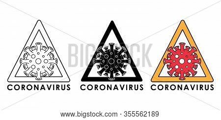coronavirus. coronavirus icon. corona virus vector. coronavirus icon vector. corona virus symbol. corona virus icon. corona virus illustration. coronavirus 2019-nCoV outbreak vector icon flat symbol for website, sign, mobile, app, UI.