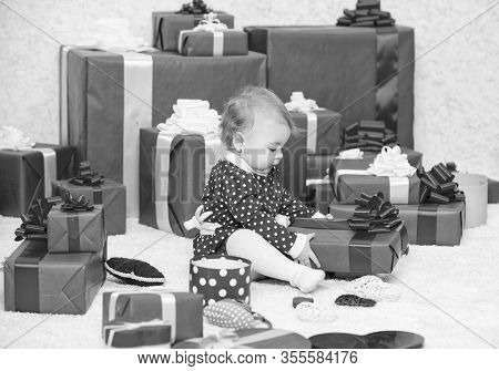 Gifts For Child First Christmas. My First Christmas. Sharing Joy Of Baby First Christmas With Family