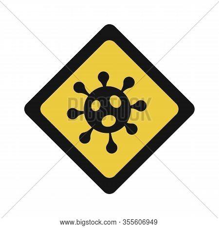 Pandemic Stop Novel Coronavirus Outbreak Covid-19 2019-ncov Sign.