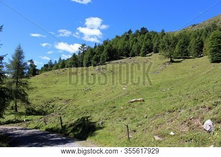 The Beautiful Mountain Landscape Of The Resia Valley Between The Friuli Alps In Italy 003