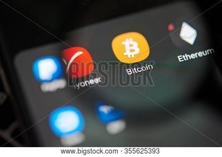 Bitcoin Wallet App On Smartphone