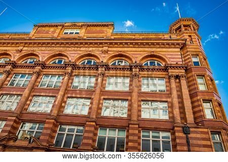Manchester, United Kingdom - March 1, 2020: Churchgate House Or Tootal Broadhurst And Lee Building F