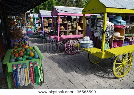 Key West Souvenir Carts