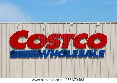 Perth, Australia - February 12, 2020: Costco Wholesale Retailer Opening In Perth In 2020