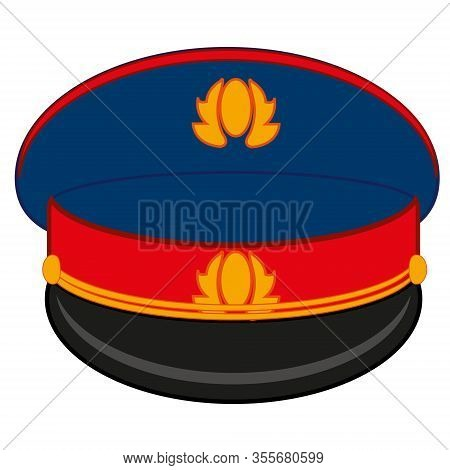 Uniform Service Cap Of The Employee To Police Bodies In Russia