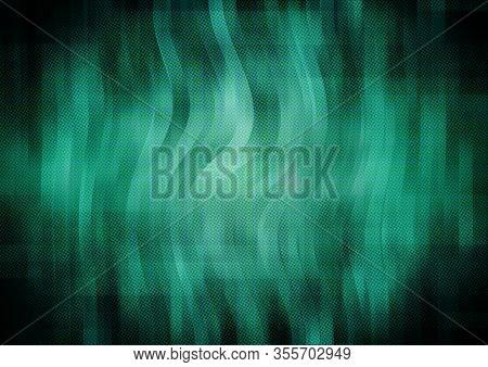 Abstract Rainbow Stripe Gorizontal Backdrop. 3d Illustration.