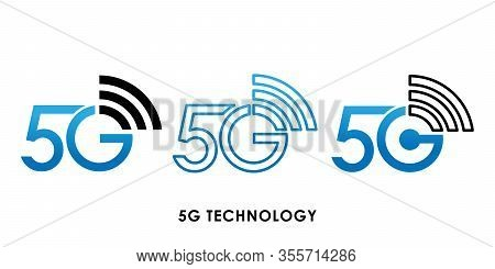 5G, 5G icon, 5G vector, 5G icon vector, 5G logo, 5G symbol, 5G sign, 5G icon design. 5G icon vector illustration. 5G connection vector template design. 5G network technology vector illustration for website, logo, app, UI.