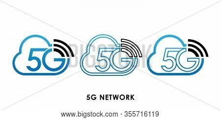 5G, 5G Network Speed icon, 5G vector, 5G icon vector, 5G logo, 5G symbol, 5G sign, 5G icon design. 5G Network icon vector illustration. 5G connection vector template design. 5G network technology vector illustration for web, logo, app, UI.